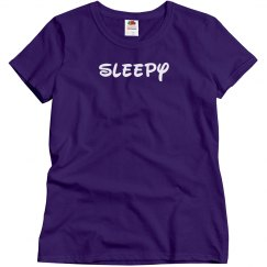 Sleepy Easy Costume Tee