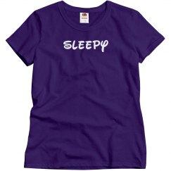 Sleepy Easy Costume Tee
