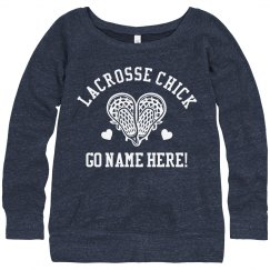 Proud Lacrosse Chick Girlfriend
