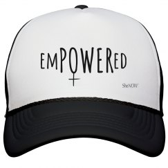 SheNOW #EMPOWERED - trucker hat