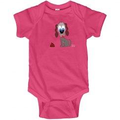baddawg apparel baby onesie