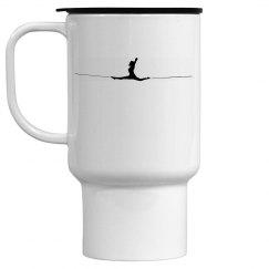 Splits - White Travel Mug