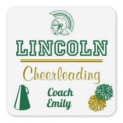 Lincoln Cheerleading Coach Magnet_Item70C-2