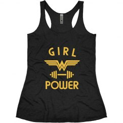 Wonder Woman Workout Tank