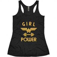 Wonder Woman Workout Tank
