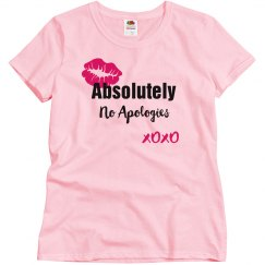 Absolutely No Apologies Hot Pink Lips T-Shirt