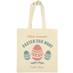 Customizable Easter Egg Hunt Bag