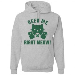 Beer Me Right Meow St Pattys Day