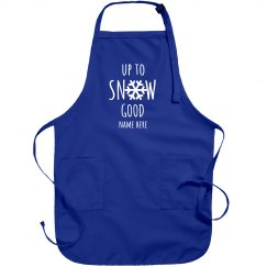 Up to Snow Good Christmas Apron