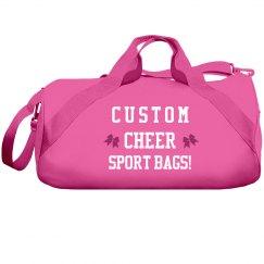 Customize your Cheer Duffel Bag!