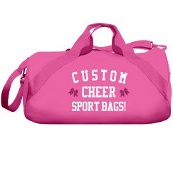 Customize your Cheer Duffel Bag!