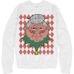 Ugly Mrs. Claus Sweater