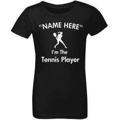 I'm the tennis player