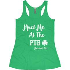 St Patty Marshall FIT Tank