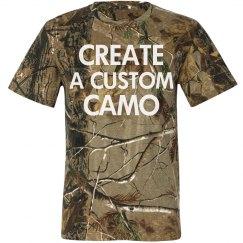 Custom Camouflage Tee