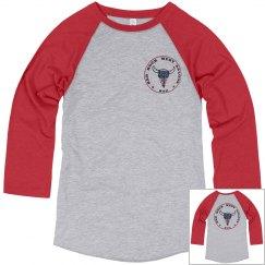 Vintage Base Ball 3/4 Sleeve T-shirt