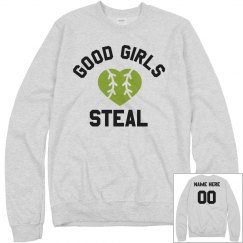 Softball Girls Steal Sweatshirt