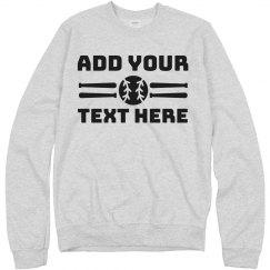 Custom Baseball Fan Sweatshirt