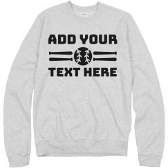 Custom Baseball Fan Sweatshirt