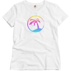 Rainbow Beach Palm Tree