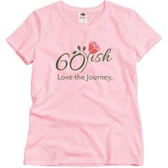 60ish Slim fit t-shirt color logo