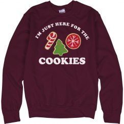 Here For The Cookies