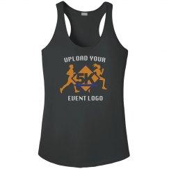 Custom Event Logo Upload Women's Workout Racerback