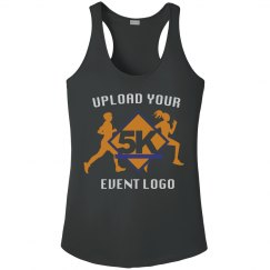 Custom Event Logo Upload Women's Workout Racerback