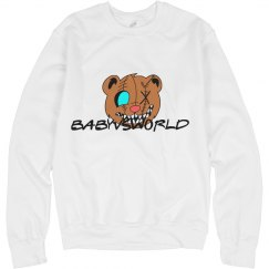 BABYVSWORLD 'LOGI BEAR' CREWNECK