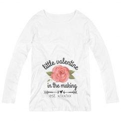 Custom Maternity Valentine Shirt