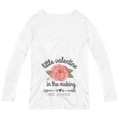 Custom Maternity Valentine Shirt