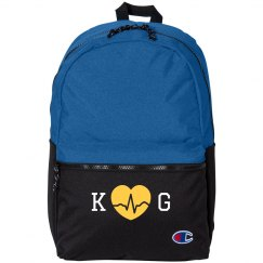 Custom Initials Nursing Backpack