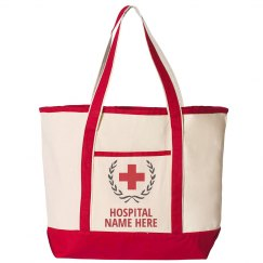 Custom Hospital Nurse Tote