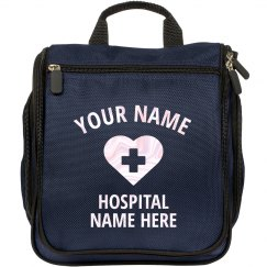 Custom Name Personal Nurse Bag
