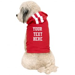 Custom Text For Man's Best Friend