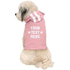Your Text Custom Pet Hoodie