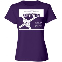 17th Annual Mid-Year Ladies T-Shirt- Purple