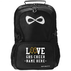 Custom Love Cheer Glitter Bow Nfinity Pack