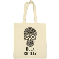 Holá Skully Tote Bag