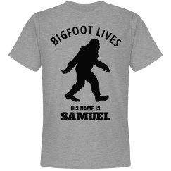 BIGFOOT LIVES. Samuel