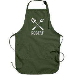 Robert personalized apron
