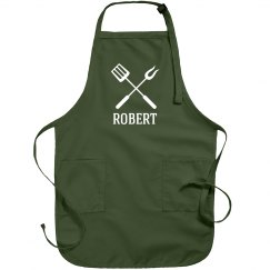 Robert personalized apron