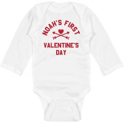 My 1st Valentine's Day Personalized