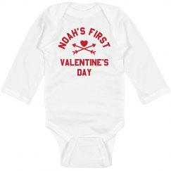 My 1st Valentine's Day Personalized