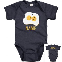 Cute Egg Custom Valentine Onesie
