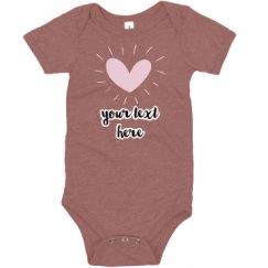 Infant Triblend Super Soft Bodysuit