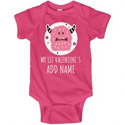 Personalized 1st Valentine's Day