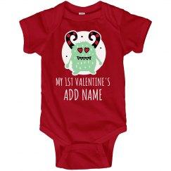 Custom Baby Boy 1st Valentine's