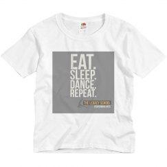 "LSPA- ""Eat,Sleep,Dance,Repeat"" Shirt"