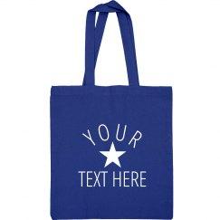 Custom Trendy Star Beach Bag